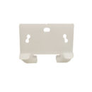 #405-1-5/16 in. Yellow Plastic Drawer Track Guide