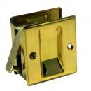 #10800- Brass Pocket Door Passage Lock