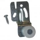 #2001- 1/2 in. Milled Steel Offset Closet Door Hanger