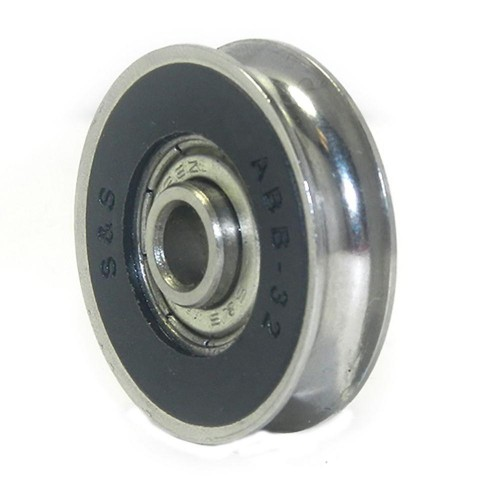 43 1 1 2 In Precision Bearing Stainless Steel Wheel