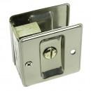 #10781- Satin Nickel Pocket Door Privacy Lock