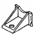 #10138- Crown Single Hung Top Guide