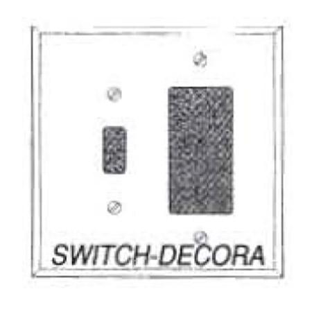 7014 Combo Switch Decora Mirror Plate Barton Kramer Inc